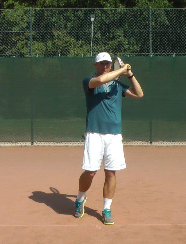 Kĩ thuật thuận tay trong tennis