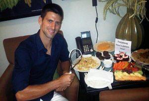 Chế độ ăn diet của Novak Djokovic